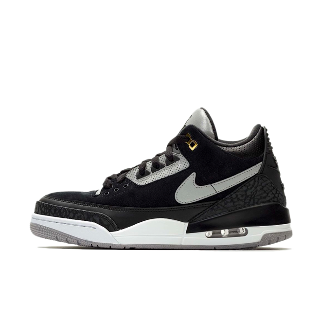 Air Jordan 3 Retro Tinker 'Black' zijaanzicht