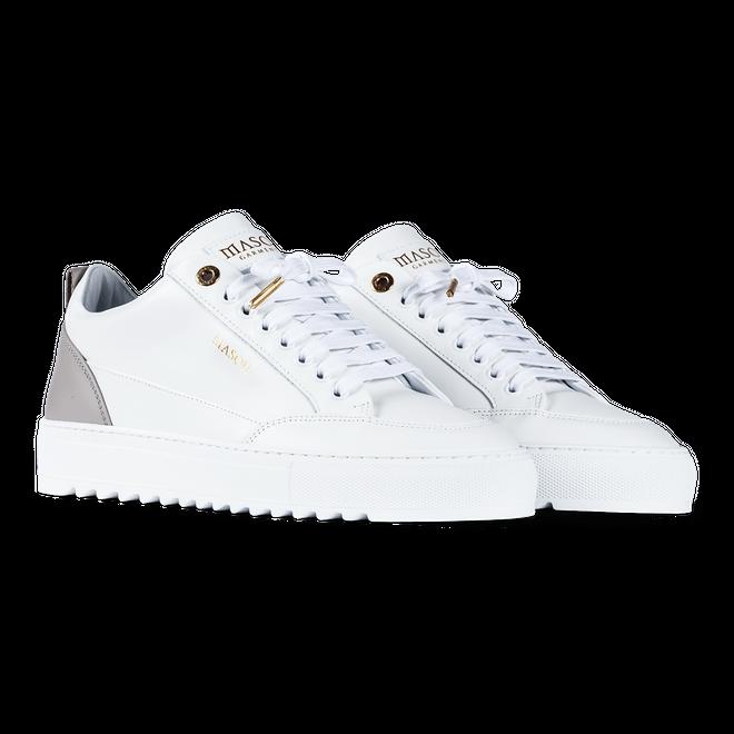 Mason Garments Tia - Softy Leather - White / Grey