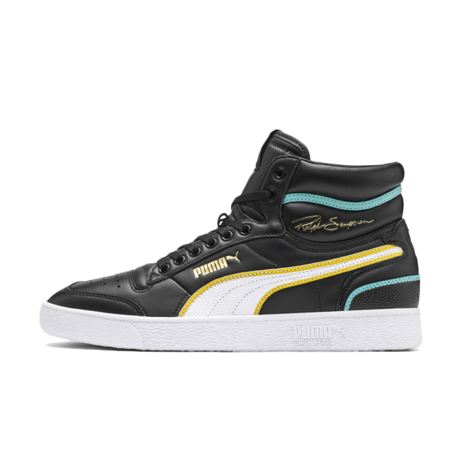Ralph Sampson X Puma Mid Hoops 'Black'