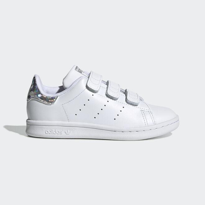 Adidas Stan Smith White/Metsil Velcro PS EE8484