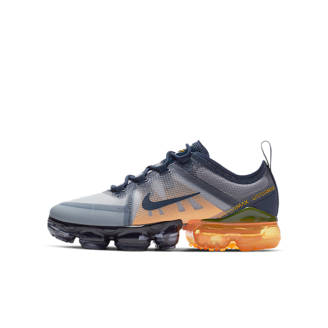 Nike Air Vapormax 2019 (GS) Midnight Navy/ Midnight Navy-Laser Orange