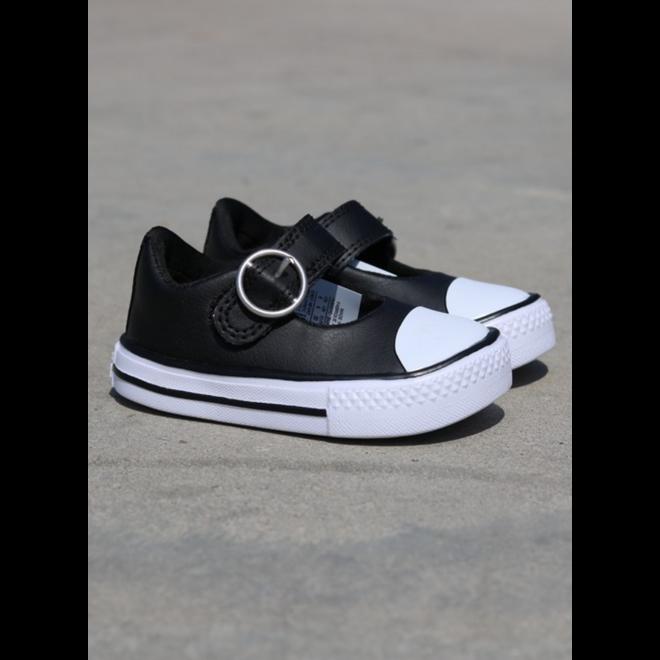 Converse Superplay mary black white ts 763557C