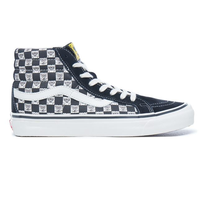 Vans X Spongebob Graphic High Top Sneakers - Zwart