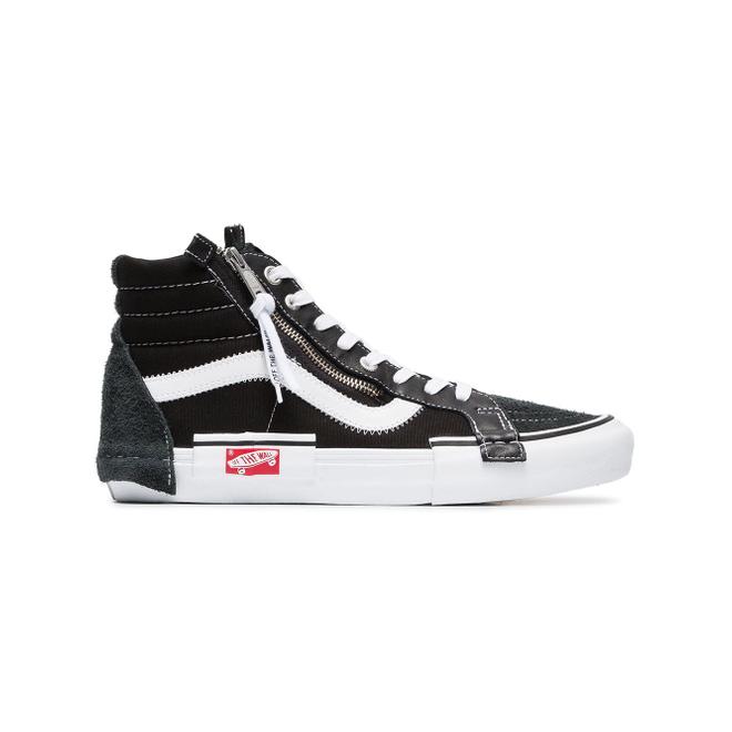 Vans black Vault Sk8-Hi suede