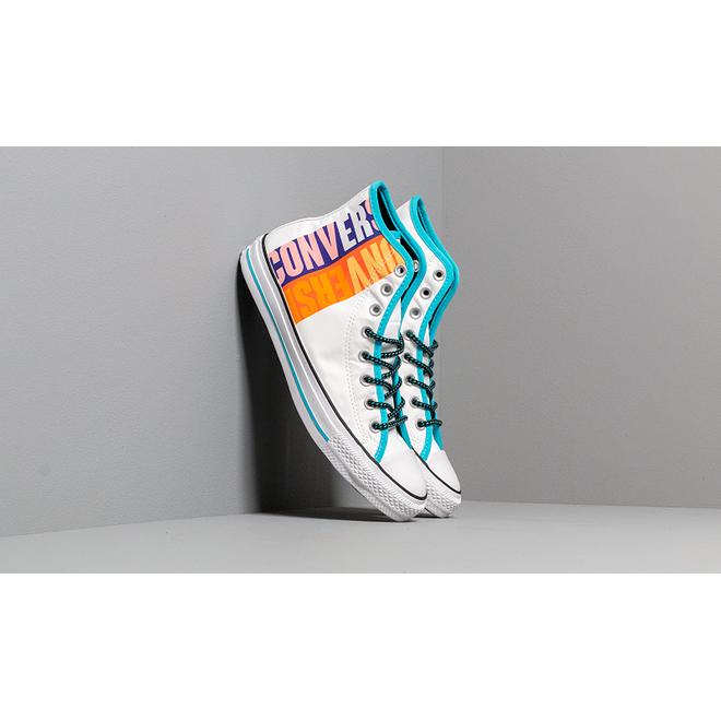 Converse Chuck Taylor All Star White/ Gnarly Blue/ White