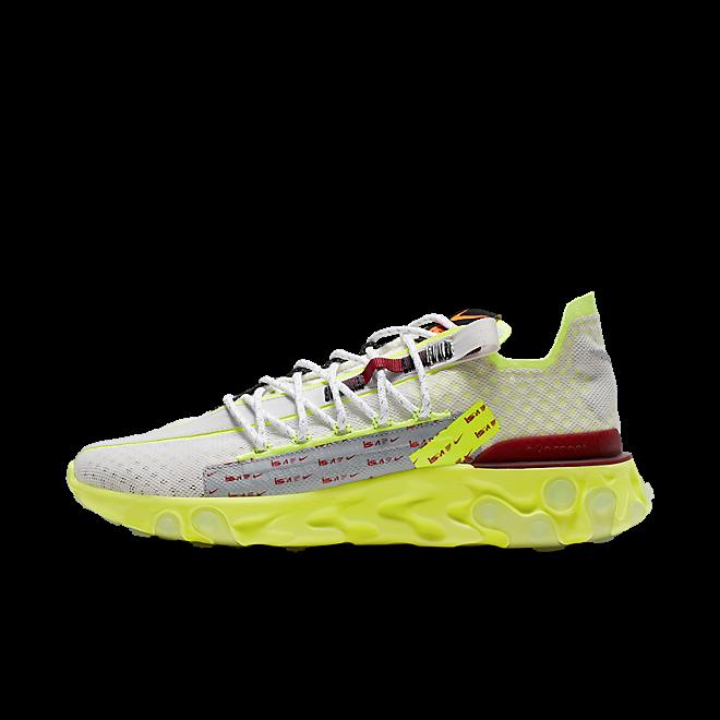 Nike React ISPA 'Volt Glow' zijaanzicht