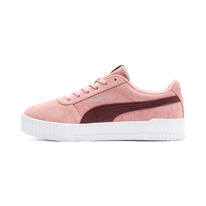Puma Carina Suede Womens Sneakers