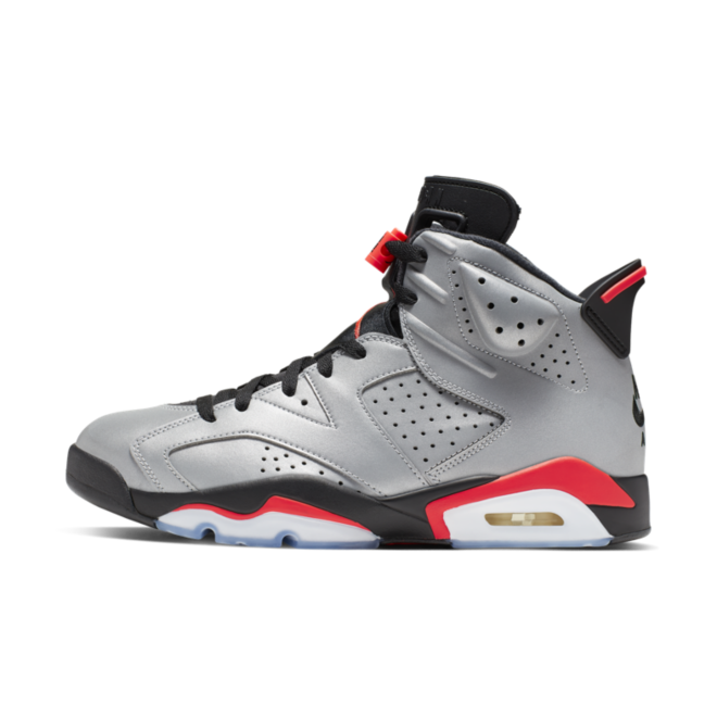 Air Jordan 6 Retro SP 'Reflective Silver' zijaanzicht