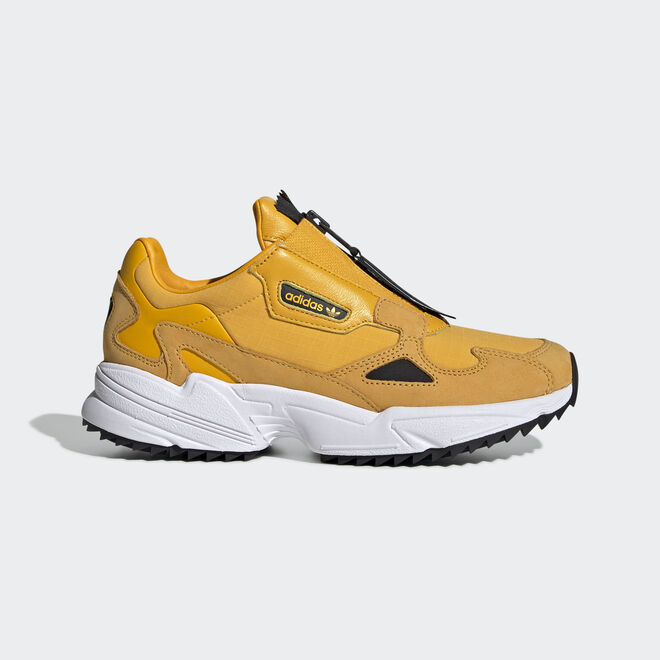 adidas Falcon Zip W Active Gold/ Core Black/ Ftw White | EE5113