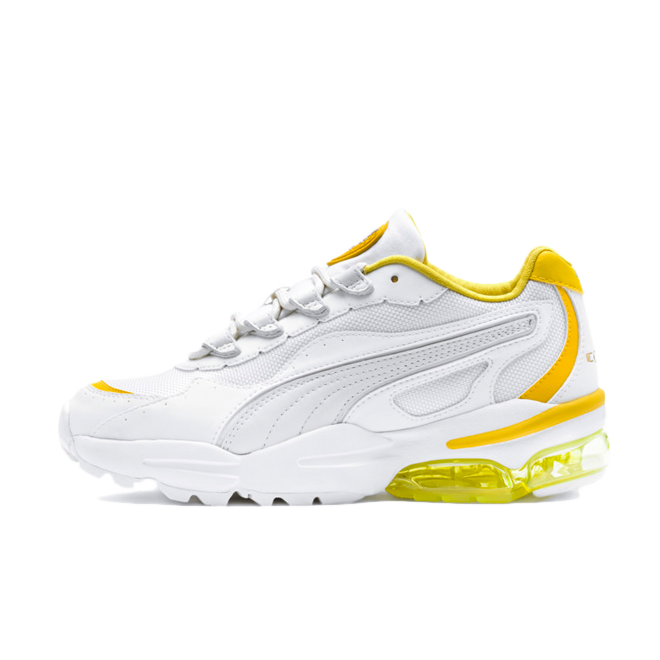 Puma Cell Stellar 'White/Yellow' zijaanzicht