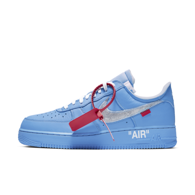 Off-White X Nike Air Force 1 'Blue' - Not Confirmed