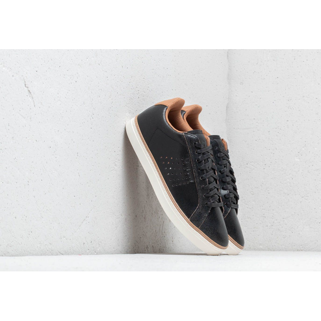 Le Coq Sportif Courtace Premium Black/ Brown Sugar