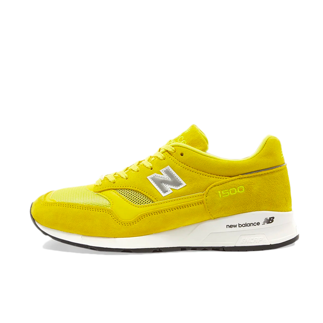 POP Trading Company X New Balance M1500 'Electric Yellow' zijaanzicht