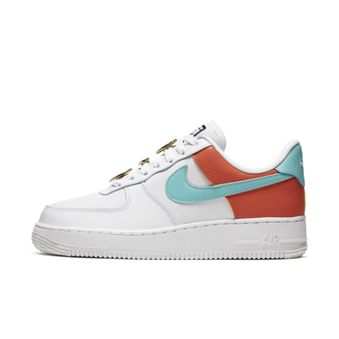 Nike Air Force 1 White Aqua Clay AA0287 106 Release Info