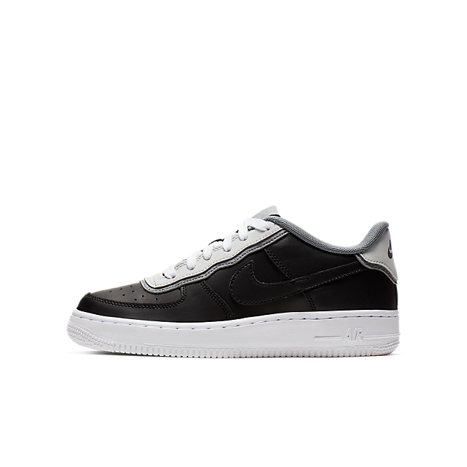 Nike Air Force 1 Lv8 1 Dbl Gs Black Black Pure Platinum Cool Grey | BV1084 001
