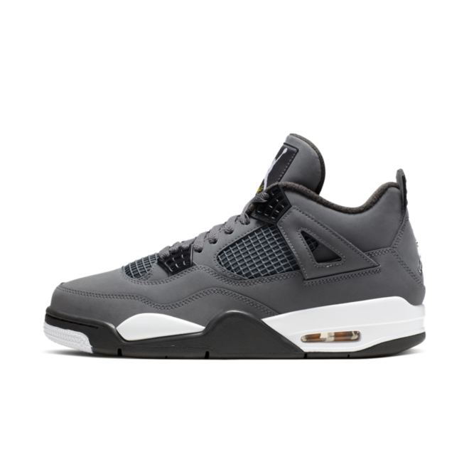 Air Jordan 4 Retro 'Cool Grey' zijaanzicht