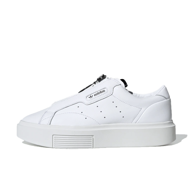 adidas Sleek Super Zip 'White' zijaanzicht