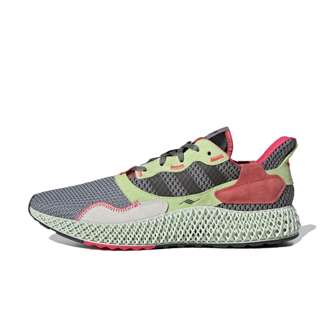 adidas ZX 4000 4D 'Grey Three' zijaanzicht