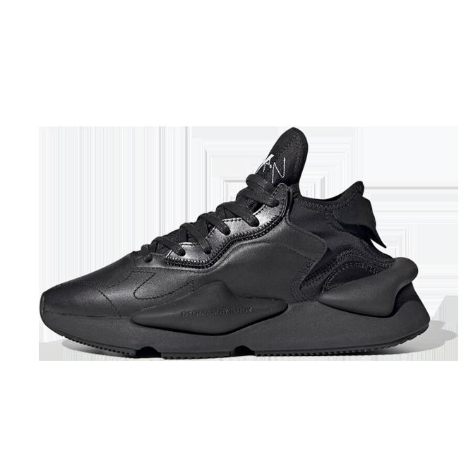 adidas Y-3 Kaiwa 'Triple Black' zijaanzicht