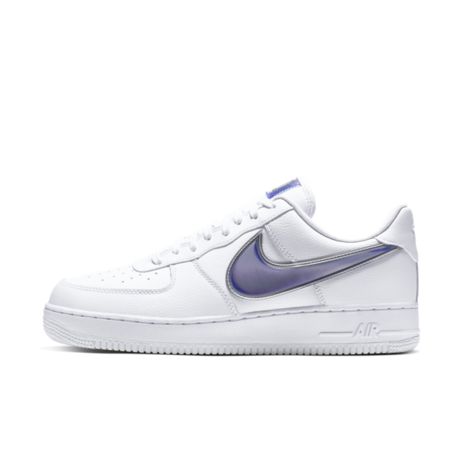 Nike Air Force 1 Low Oversized Swoosh 'Racer Blue' zijaanzicht