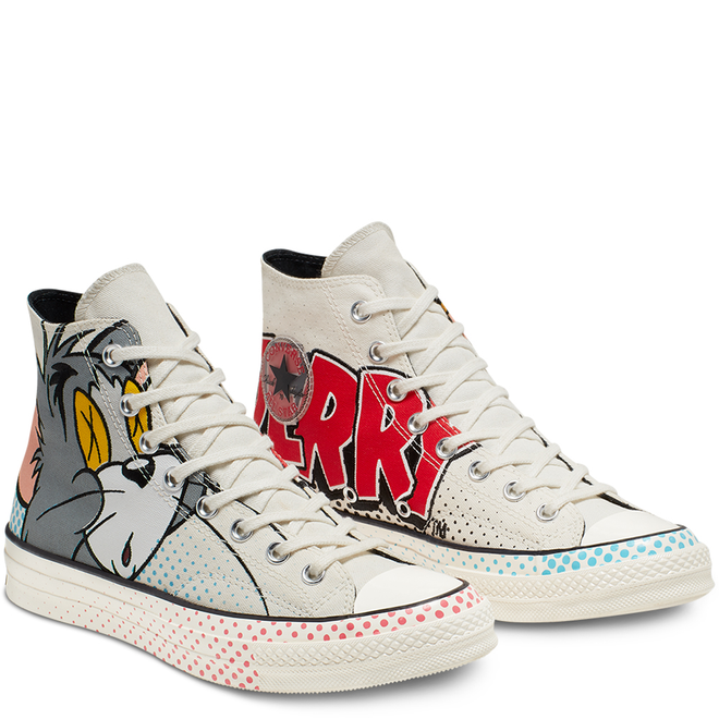 Tom and Jerry Chuck 70 High Top | 165734C