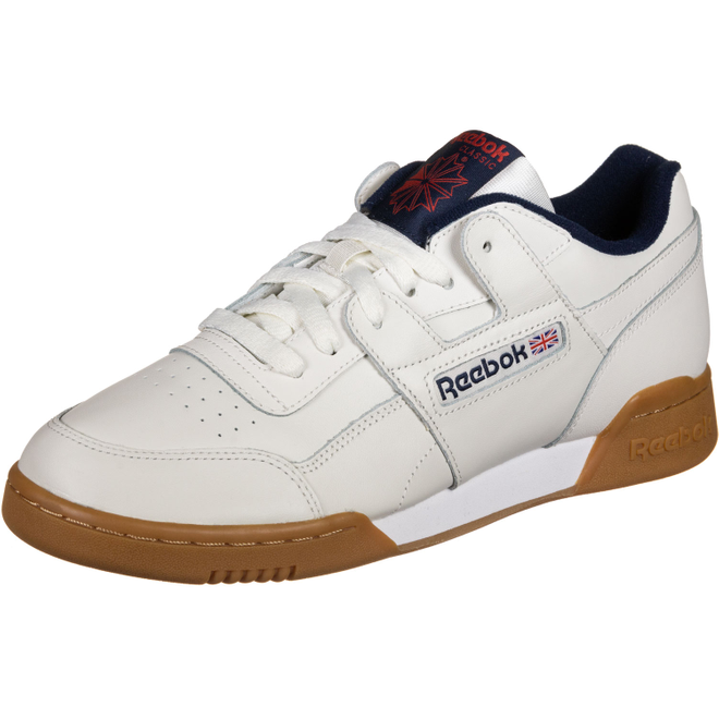 Reebok Workout Plus MU (Chalk / Collegiate Navy)