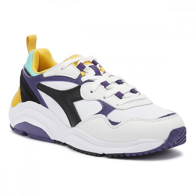 Diadora Whizz Run Mens White / Purple Trainers