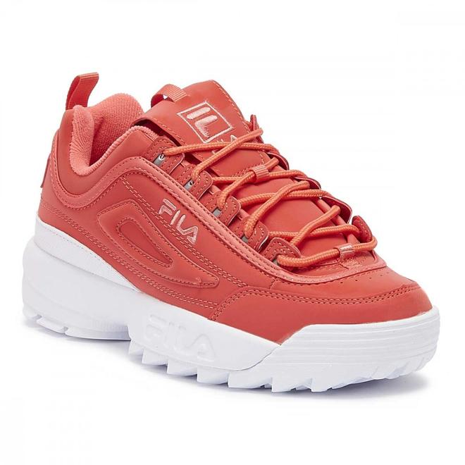 Fila Disruptor II Spring Pack Shift Split Womens Pink Glo Trainers