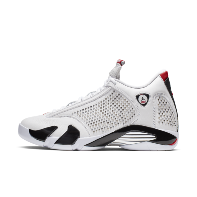 Supreme X Air Jordan 14 Retro SP 'White' zijaanzicht