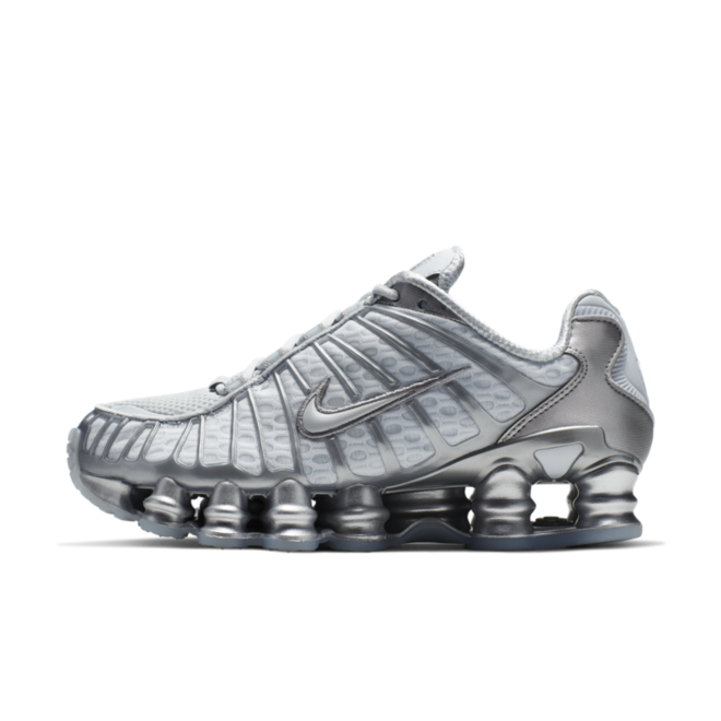 Nike Shox TL 'Silver' zijaanzicht