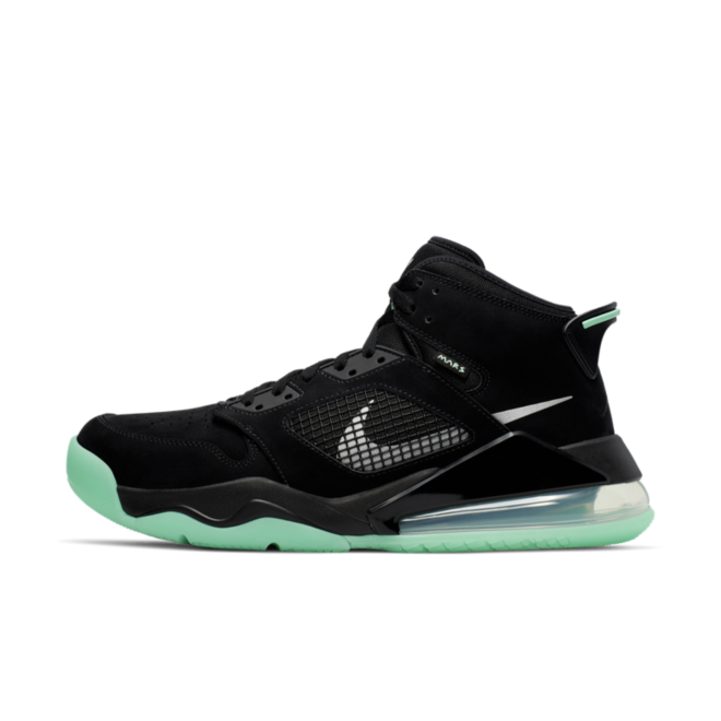 Air Jordan Mars 270 'Black/Green Glow' CD7070-003