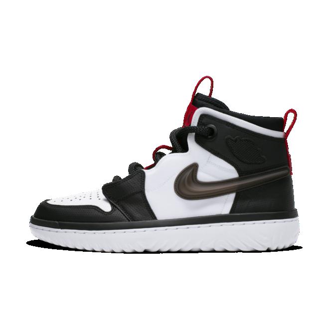 Air Jordan 1 React 'Black/White' zijaanzicht