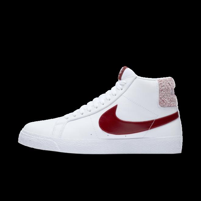 Nike SB Zoom Blazer Mid Premium 'Team Red/White'