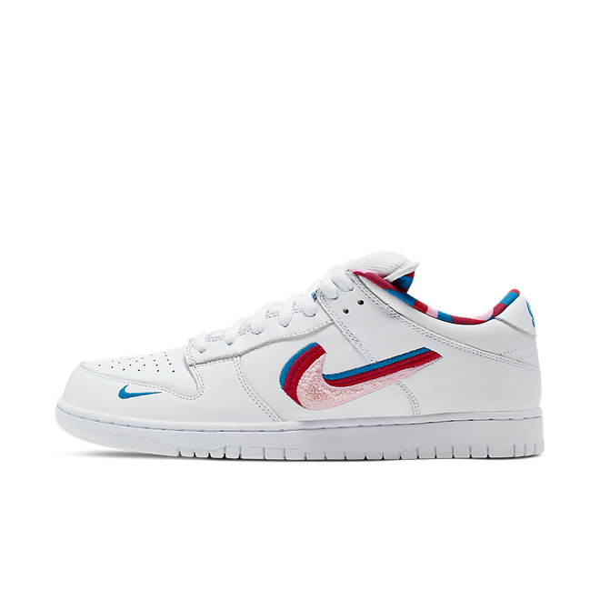 Parra X Nike SB Dunk Low OG QS - SNKRS DAY Exclusive Access zijaanzicht