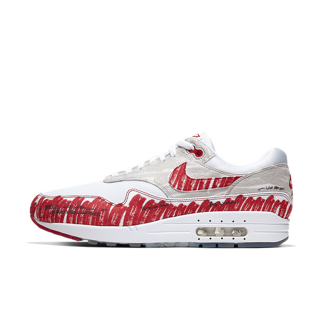 Nike Air Max 1 QS 'Sketch To Shelf' OG Red CJ4286-101