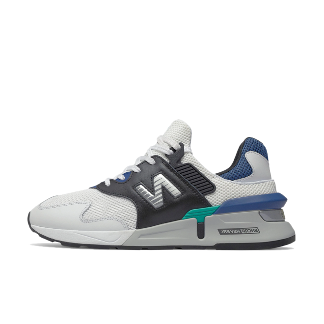 New Balance MS997JCD 'White/Blue' zijaanzicht