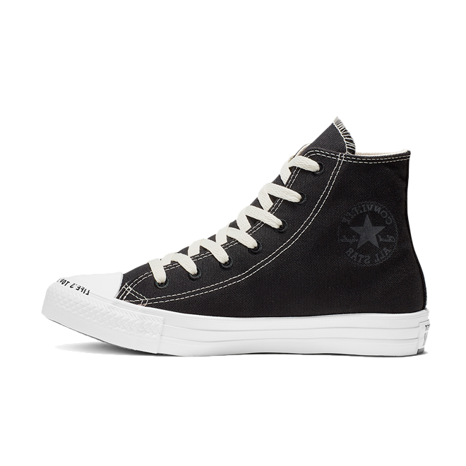 Converse Chuck Taylor All Star Recycle Hi 'Black' zijaanzicht