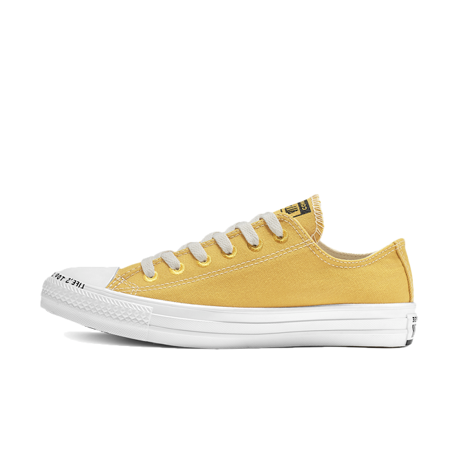 Converse Chuck Taylor All Star Recycle Ox 'Yellow' zijaanzicht