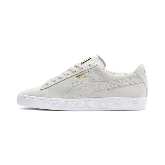 Puma Suede Classic Metal Badge Trainers