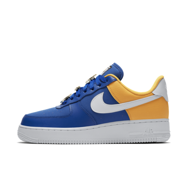 nike air force 1 blue yellow