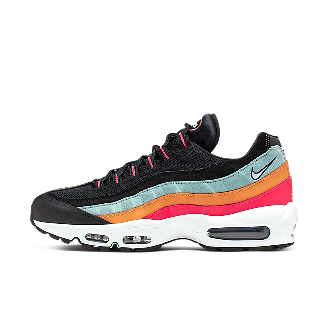 Nike Air Max 95 Essential Black/ White-Ocean Cube-Kumquat AT9865-002