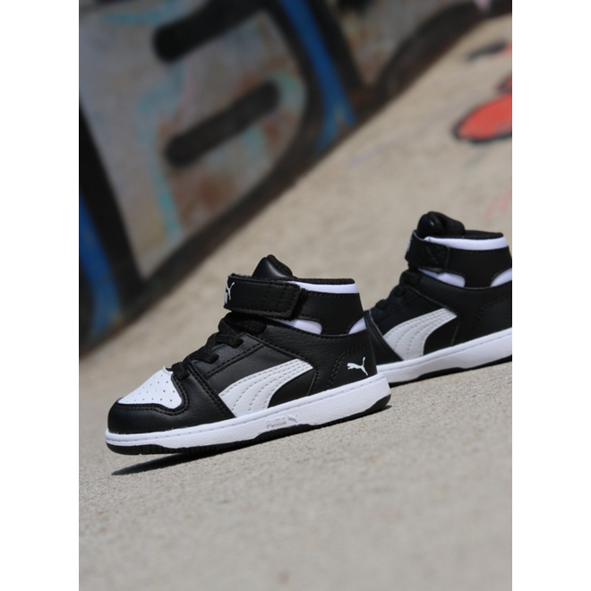 Puma Rebound lay-up black/white TS 370489-01