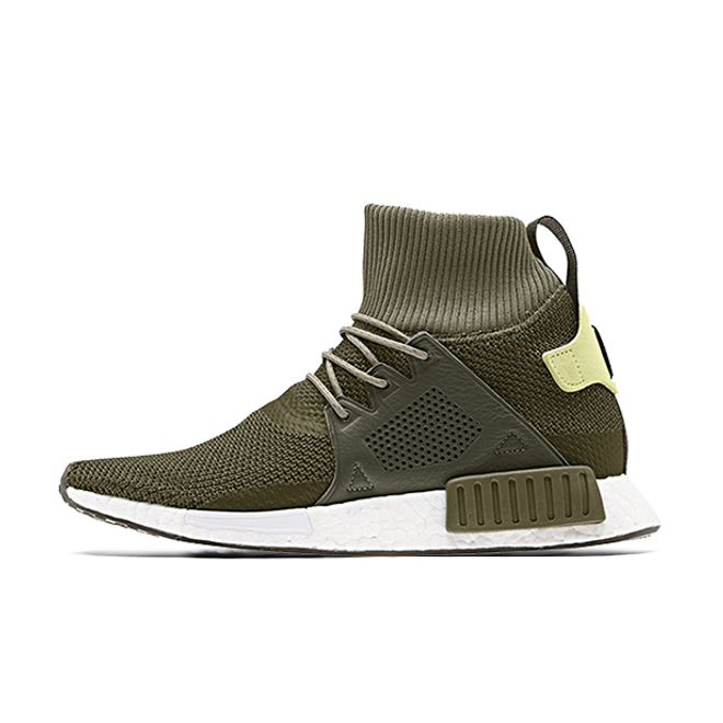 adidas NMD XR1 Boost Winter Pack Olive zijaanzicht