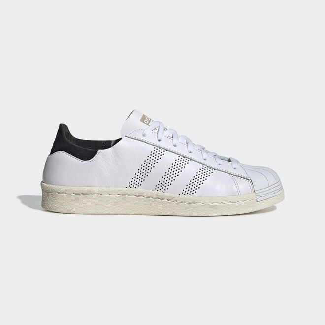 Womens Adidas Superstar 80s 3D Metal Toe White Trainers RRP £89.99 TGF21