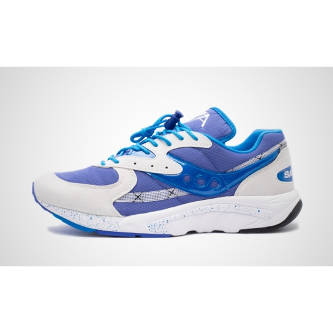 Saucony Aya (White / Blue / Light Blue)