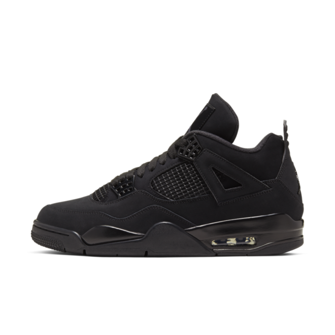 Air Jordan 4 'Black Cat' zijaanzicht