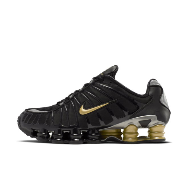 Neymar JR X Nike Shox TL 'Black Gold'