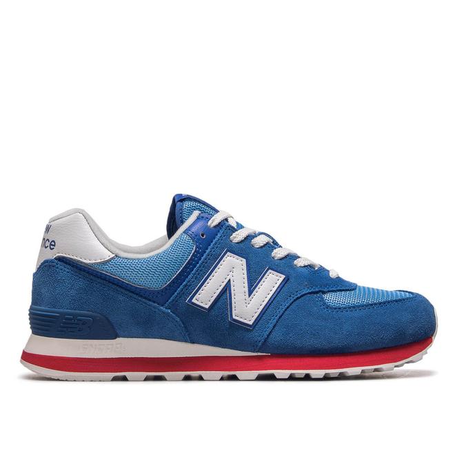 Herren Sneaker ML574 ERG Blue White Red