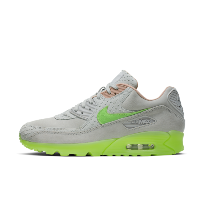 Nike Air Max 90 Premium 'Electric Green' zijaanzicht