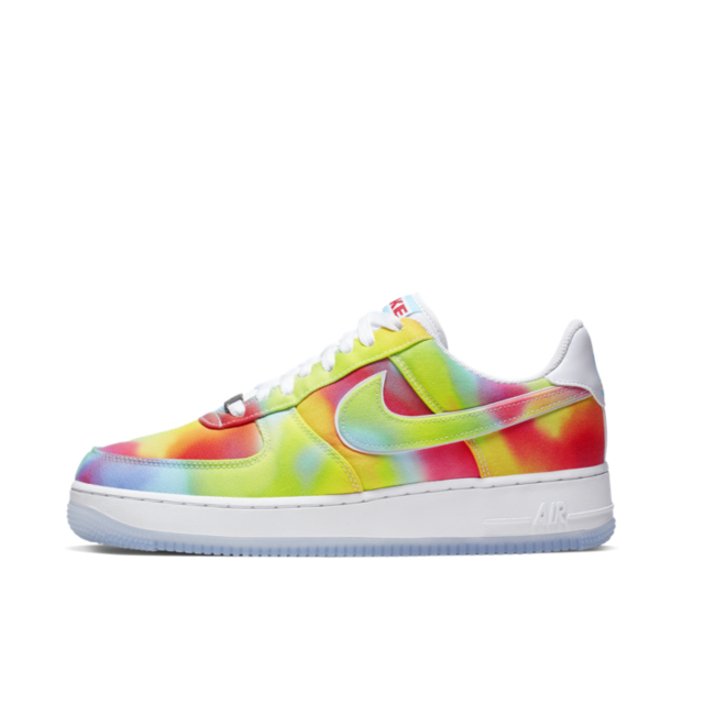 Nike Air Force 1 'Tie-Dye' zijaanzicht